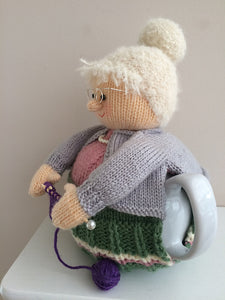 Nana- Knitted Tea Cosy Kit