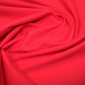 Cotton Jersey Fabric - Red