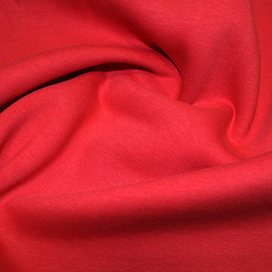 Sweatshirt Jersey Fabric - Red