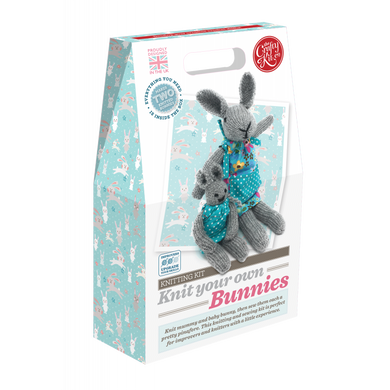 The Crafty Kit Company - Knit Your Own Bunnies Kit