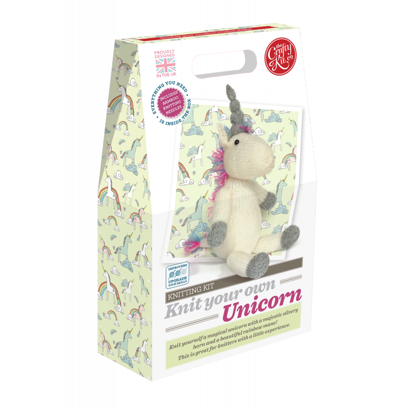 The Crafty Kit Company - Knit Your Own Unicorn Kit
