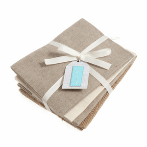 Christmas Fat Quarter Pack -  Naturals