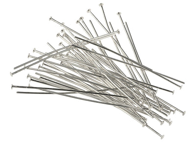 Head Pins for Beading- Pack of 10 - 5cm