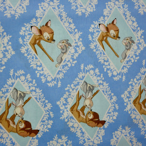 Disney - Bambi & Thumper - 100% Cotton