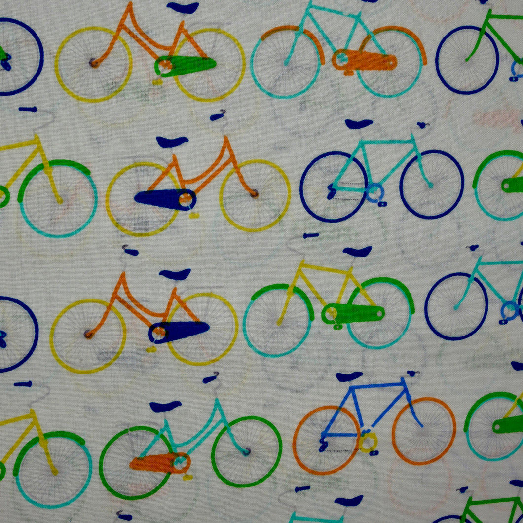 Bicycles - 100%  Cotton
