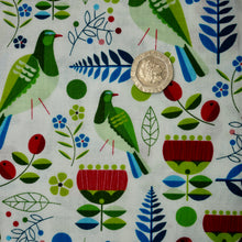 Load image into Gallery viewer, Early Birds - Kereru - 100% Cotton