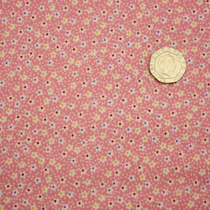 Vintage Miniatures - Ditsy Flowers - 100% Cotton