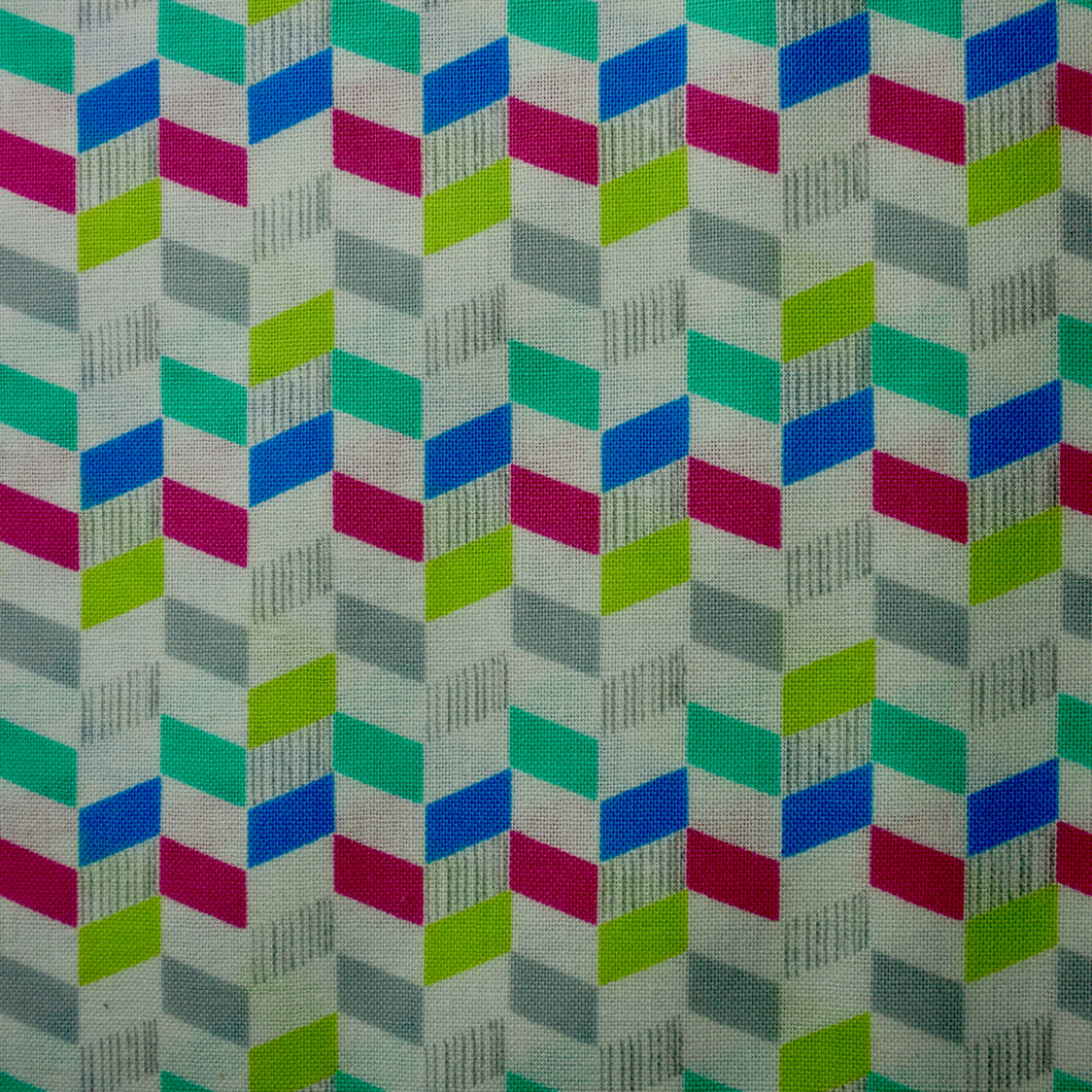 Into The Woods - Chevron - 100% Cotton