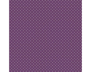 Pin Spot - 100% Cotton - Purple
