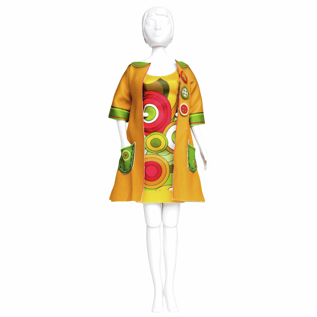 Dress Your Doll - Couture Outfit Kit - Betty Funky