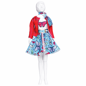 Dress Your Doll - Couture Outfit Kit - Lucy Butterfly