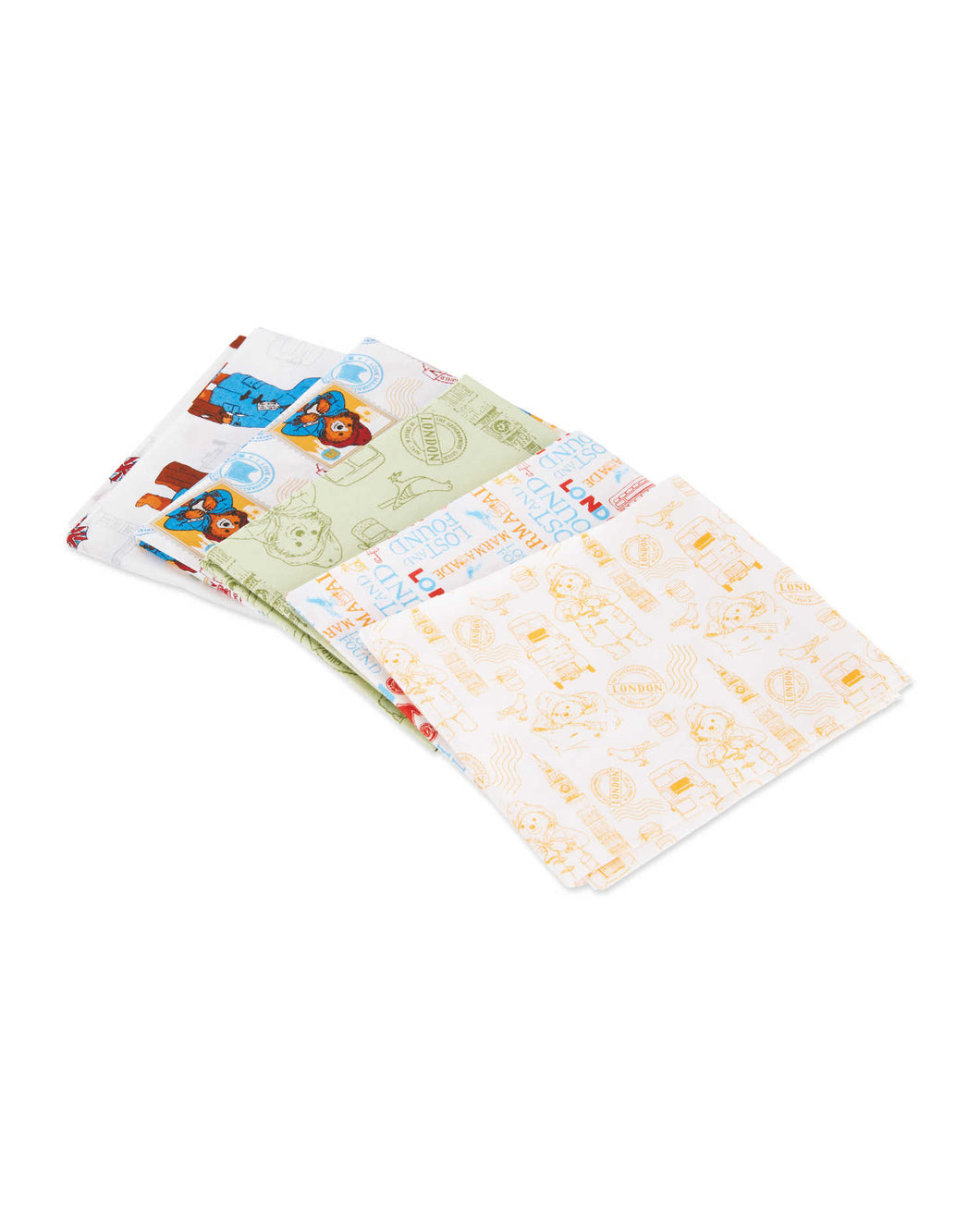 Fat Quarter Pack - Paddington Bear