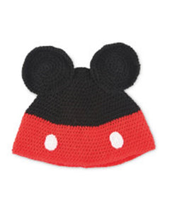 Mickey Mouse Crochet Hat Kit - 25% off