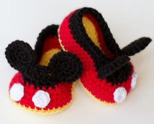 Mickey Mouse Crochet Booties Kit - 25% off