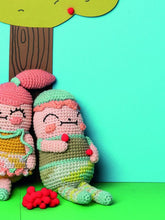 Load image into Gallery viewer, Ricorumi Pattern Book - Crazy Cute Family
