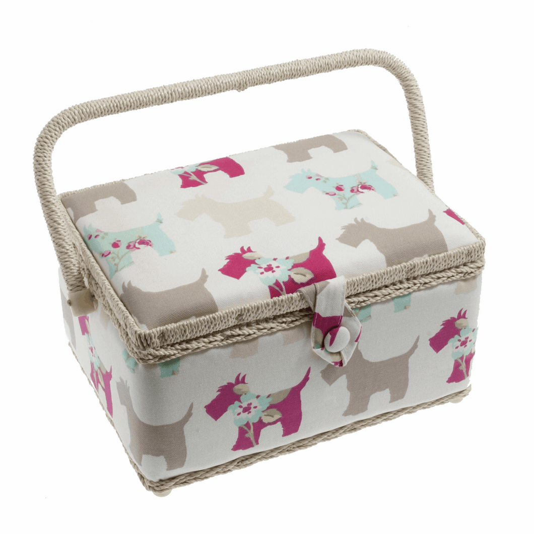 Sewing Box - Scottie Dog