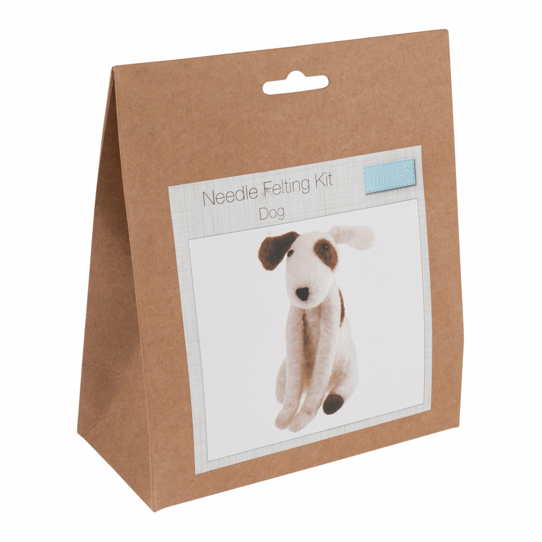Needle Felting Kit - Dog