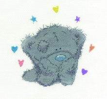 Load image into Gallery viewer, DMC Me To You Cross Stitch Kit - Bear Daydreams