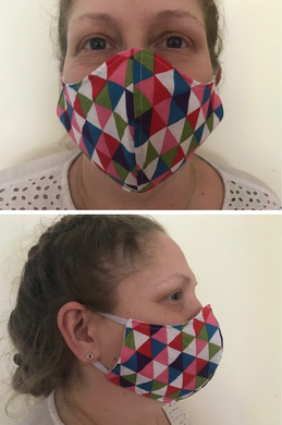 Shaped Face Covering Kit - Makes 4