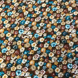 Viscose - Brown Floral