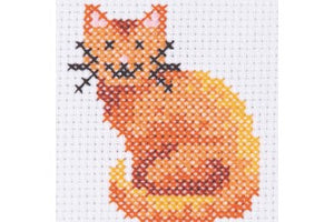 Anchor 1st Cross Stitch - Cat