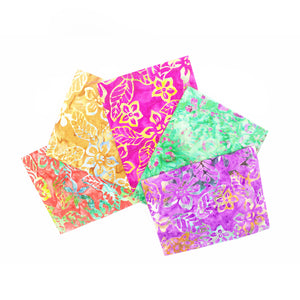 Fat Quarter Pack - Batik - 3 Designs