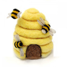 Load image into Gallery viewer, The Crafty Kit Company - Bee Hive Needle Felting Kit