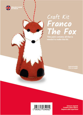 Franco The Fox Sewing Kit