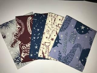 Fat Quarter Pack - Harry Potter - Spells