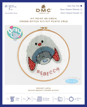 Load image into Gallery viewer, DMC Me To You Cross Stitch Kit - Bunny Beanie
