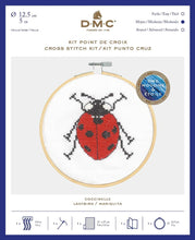 Load image into Gallery viewer, DMC Cross Stitch Kit - Lady Bird