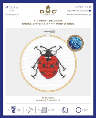 DMC Cross Stitch Kit - Lady Bird