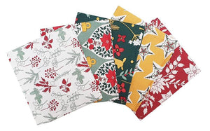 Christmas Fat Quarter Pack -  Holiday Folklore