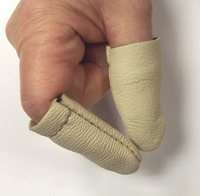 Felting Finger & Thumb Protection - Leather