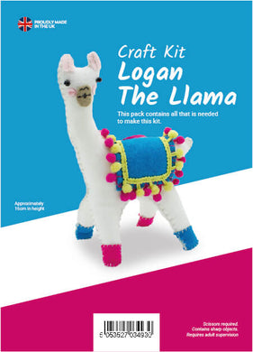 Logan the Llama Sewing Kit