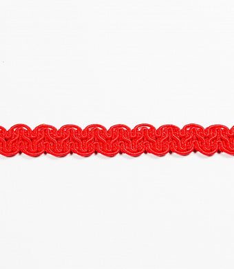 Braid - Furnishing - Cherry Red