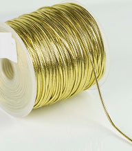 Load image into Gallery viewer, Metallic Cord - By The Metre