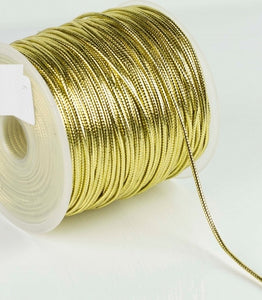 Metallic Cord - By The Metre