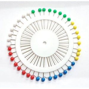 Pins - Coloured Head - Wheel