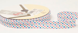 Bias Binding - Patterned & Textured - 18mm Polycotton