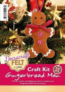 Christmas Gingerbread Man Sewing Kit