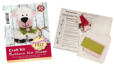 Buttons The Sheep Sewing Kit