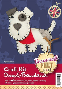 Dog & Bandana Sewing Kit