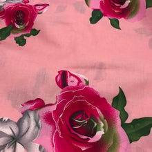 Load image into Gallery viewer, Remnant - Pink Floral - 100% Cotton