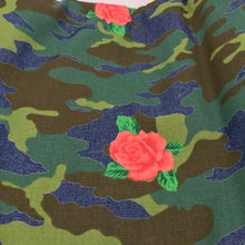 Load image into Gallery viewer, Remnant - Floral Camo - 100% Denim