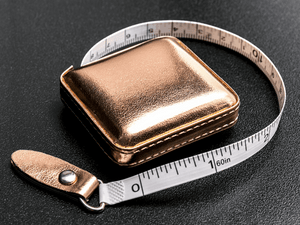 Tape Measure - Retractable - Rose Gold