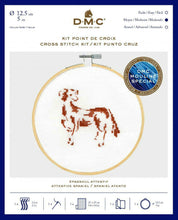 Load image into Gallery viewer, DMC Cross Stitch Kit - Attentive Spaniel