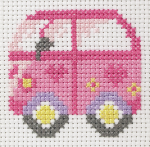 Anchor 1st Cross Stitch - Car