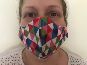 Face Mask - Women/Teenagers - 100% Cotton