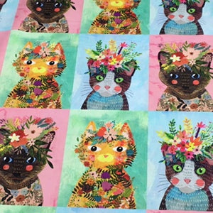 Floral Pets -   Dashwood Studios - 100% Cotton